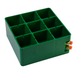 PLASTIC CENTER BLOCK REPLACEMENT for 200 x 200 mm