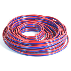 2M-159-CUSTOM-05-07 - RED BLUE VACUUM LINES 100 ft.