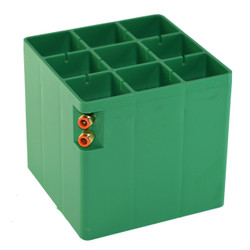 PLASTIC CENTER BLOCK REPLACEMENT FOR 200 X 200 X 200 MM