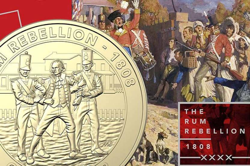 Mutiny and Rebellion - The Rum Rebellion - My Collectables