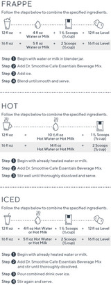 Dr. Smoothie Cafe Essentials Gourmet Beverage Mix Ginger Spice Chai 3.5 Lb. Bag