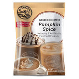 Fall in love at first sip with Big Train's Pumpkin Spice Blended Ice Coffee Mix! Indulge your senses when you try our decadent take on a popular seasonal flavor, made with real pumpkin. We source the highest-quality ingredients and carefully blend them to create our deliciously caffeinated pumpkin spice treat. We start with smooth, invigorating coffee, real pumpkin and spice, infused with our creamy base that includes nonfat milk for smooth, consistent texture. Enjoy our pumpkin drink mix on its own, or finish with a dollop of whipped cream for a classic pairing. Serve hot, iced, or blended.