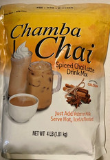 CLASSIC SPICED CHAI TEA: Chamba Spiced Chai is a deliciously sweet blend of black tea, honey, milk and spices. It can be made with water, milk or milk alternative. Enjoy hot, over ice or blended. EASY TO PREPARE: From home kitchens to cafes, we make chai tea that's simple to make & even easier to enjoy. Try our powdered mixes hot or cold, with steamed milk or milk alternative or over ice! CLASSIC CHAI FLAVOR: Our chai tea lattes contain clove, cardamom, cinnamon & ginger to give you the warm, spiced chai flavor you love. As earthy spices go, this combination is really quite heavenly. MANY VARIETIES: Find a flavor for every frame of mind. With ready-to-drink, concentrated & powdered varieties, your chai tea is ready whenever you are & wherever—at home, at work, even on the go! FLAVOR ADVENTURE: Take your taste buds on an unforgettable adventure! From our just-add-water chai, to our blended crème & coffee frappes, our beverage mixes are delicious & easy to make & enjoy.