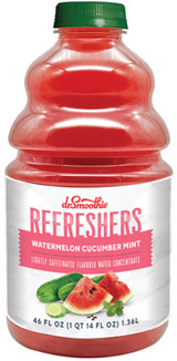 Crisp cucumber blended with sweet watermelon and finished with a hint of mint.