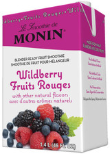 Wild raspberries, hand picked blueberries and tart blackberries are just bursting with captivating flavor. We mixed all of those ripe summer berries together, combining the best of each fruit and then created a perfectly balanced Wildberry Fruit Smoothie Mix.