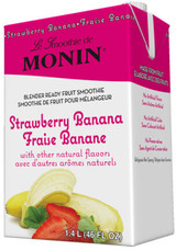 Red ripened juicy berries are so delicious when paired with sweet tropical bananas, and it's even better when there is no prep work involved. Experience the perfection of this ever-popular strawberry and banana combination with our Strawberry Banana Fruit Smoothie Mix- just pour and blend.