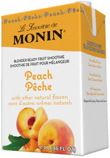 Nothing beats the fresh, juicy flavor of a perfectly ripe peach. Refreshing and light with a subtle sweetness makes it a delightful fruit to eat. Our Peach Fruit Smoothie mix blends the best peach flavors, and delivers a well-balanced and delicious frozen drink.