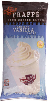Fragrant MOCAFE Tahitian Vanilla blended with mild roasted Colombian coffee, creating a real vanilla frappe or latte. The best tasting mochas and tea lattes start with the best quality ingredients. MOCAFE uses only the purest cocoas, coffee, and estate grown teas to produce the most delicious, high quality hot mochas, blended ice coffees, and Chai teas found anywhere in the world.