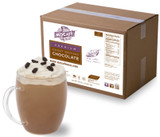 12 oz. Serving: Mix 1 1/2 scoops of Sweet Ground Chocolate to 12 oz. hot milk. 16 oz. Serving: Use 2 scoops and 16 oz. hot milk.
