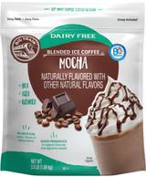 Big Train Dairy Free Mocha Blended Ice Coffee Mix 3.5 Lb. Bag