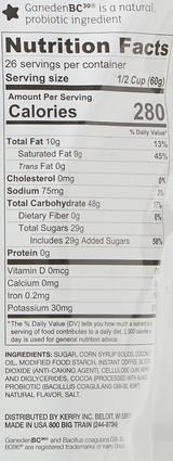 Big Train Dairy Free Caramel Latte Blended Ice Coffee Mix 3.5 Lb. Bag