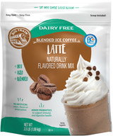 Big Train Dairy Free Latte Blended Ice Coffee Mix 3.5 Lb. Bag