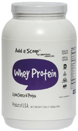Add a Scoop Whey Protein Blend, 2.5 lb. Canister