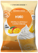 We source the finest ingredients and carefully blend them for gourmet flavor that will transport you with every sultry sip! Sweet mango juice and mango puree take center stage in our creamy base that delivers smooth, consistent texture. Pair it with banana, berries or chocolate for a twist on one of nature's most popular fruits. For an indulgent creamy finish, top with a dollop of whipped cream. Serve hot, iced, or blended
