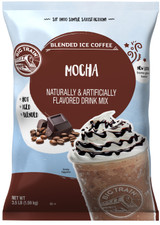 Take iced coffee to the next level with Big Train Mocha Blended Ice Coffee Mix. Sourced from the highest-quality ingredients, our mocha frappe mix has big chocolate taste and a coffee caffeine boost. The silky, smooth mocha mix delivers a full-bodied taste and consistent texture every time. Add a dollop of whipped cream or a splash of cream to craft your own signature beverage. Indulge in rich cocoa and smooth coffee with Big Train Mocha Blended Ice Coffee Mix. Try it hot, iced, or blended.