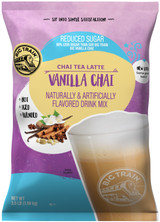 Like our original Vanilla Chai Tea Latte Mix, we infuse our mix with warming cinnamon and smooth vanilla for mellow flavor and a touch of spice, without added sugar!. Let our No Sugar Added Vanilla Chai Tea Latte Mix indulge your taste buds with a blend of exotic and familiar flavors that are never ordinary. So relax, take a sip, and be transported. Serve hot, Iced, or blended.