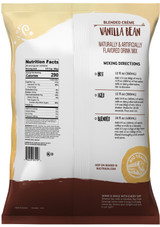 Ingredients: Sugar, Coconut Oil, Corn Syrup Solids, Nonfat Milk, Maltodextrin, Natural and Artificial Flavors, Sodium Caseinate (a milk derivative), Vanilla Bean Seeds, Silicon Dioxide (anticaking agent), Salt, Dipotassium Phosphate, Propylene Glycol Esters of Fatty Acids, Mono- and Diglycerides, Carrageenan, Soy Lecithin, Guar Gum, Xanthan Gum, Annatto Extract (for color).
