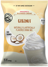 This Big Train beverage mix uses the fresh taste of sweet coconut in a creamy base that ensures smooth, consistent texture. If you crave coconut, you will love this on its own, or try it with banana, berries, or chocolate for a twist on one of nature's most popular fruits.