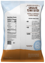 Big Train Chocolate Peanut Butter Blended Ice Coffee Mix 3.5 lb. Bag