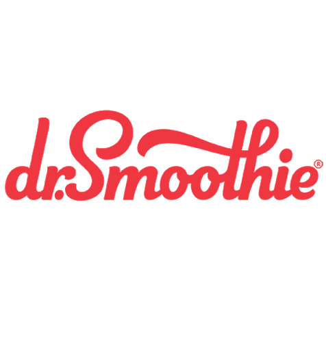 Dr. Smoothie Brand Products and Cafe Essentials