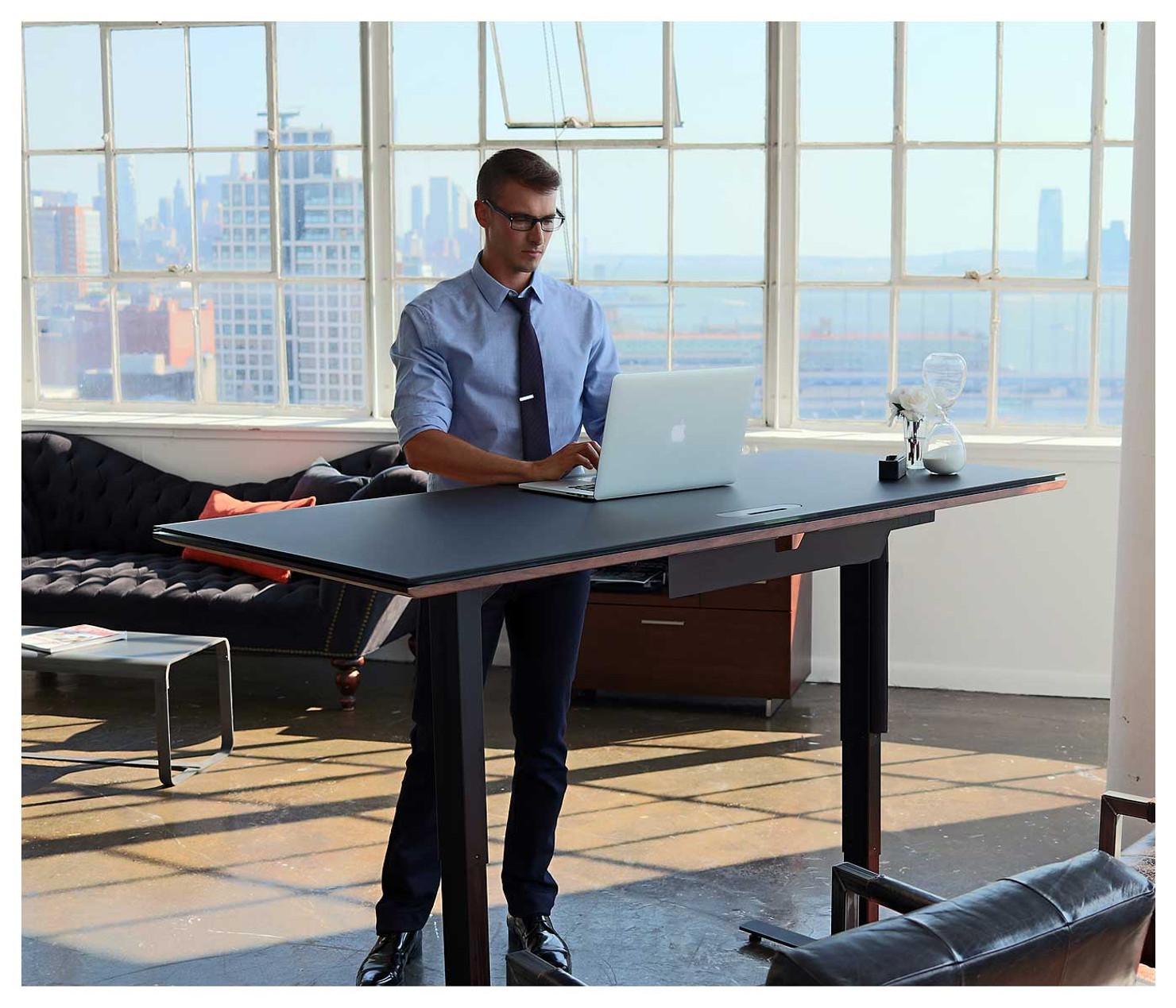BDI Sequel 40 Lift Desk 40