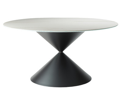 Clessidra Round Dining Table