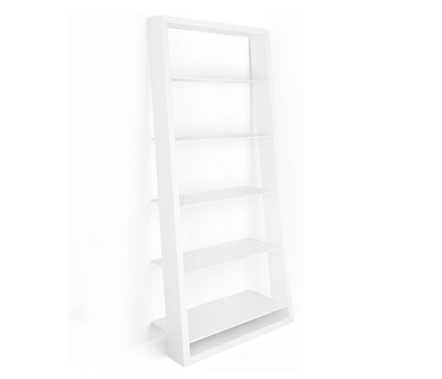 BDI Eileen Bookshelf-Satin White 5157