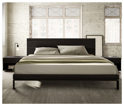 Grammercy Bed Charcoal