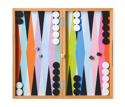 Color Play Backgammon Set