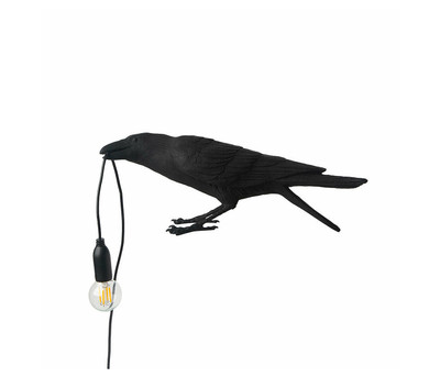 Playing Bird Table Lamp