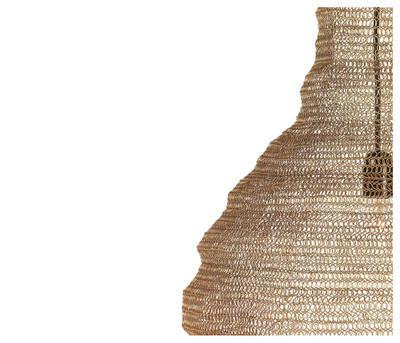 Comb Pendant Gold