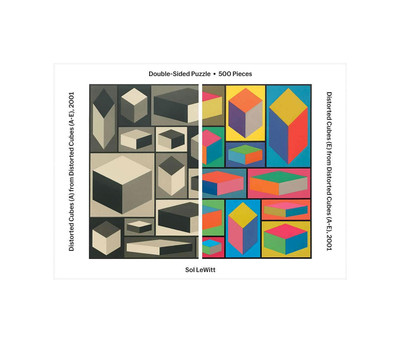 MoMA Lewitt Double Sided Puzzle