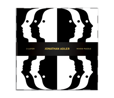 Jonathan Adler Atlas Wood Puzzle
