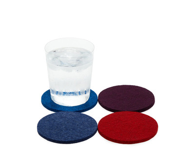 Felted Wool Coaster Sets