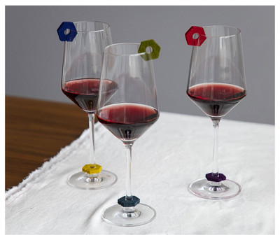 Felted Wool Wine-O Charms