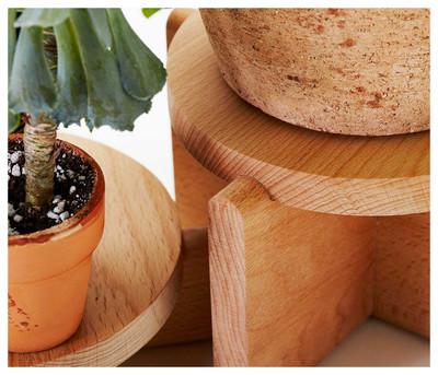 Plant Pedestal Set