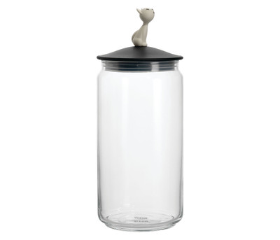 Alessi Mio Catfood Jar