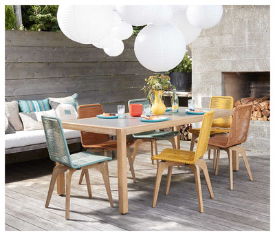Oasis Rectangular Outdoor Dining Table