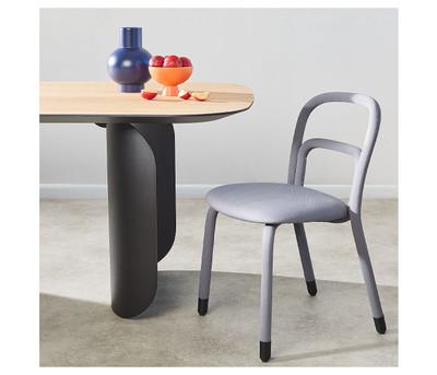 Midj Pippi Chair Grey