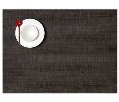 Chilewich Placemat-Mini Basket weave-Espresso