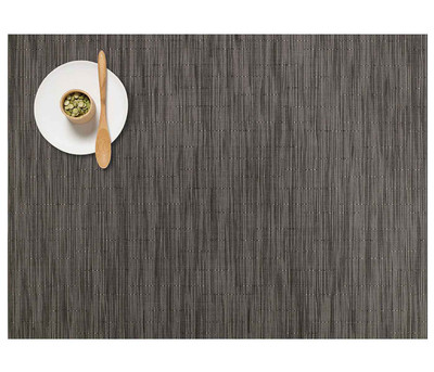 Chilewich Placemat-Bamboo-Grey Flannel