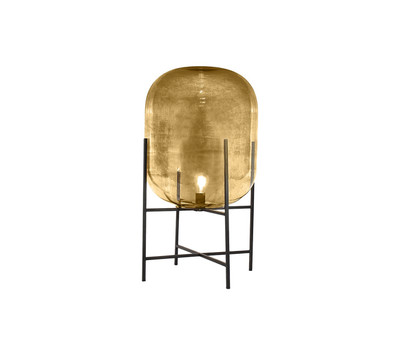 Lunare Short Floor Lamp-Amber