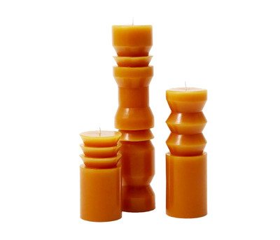 Totem Candles-Terracotta