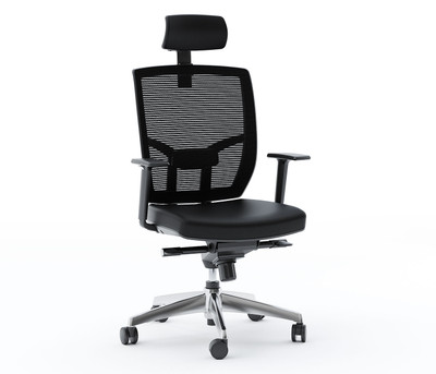 BDI Powell Office Chair-Leather