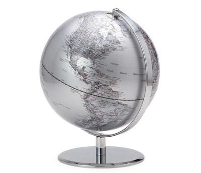 World Globe-Silver