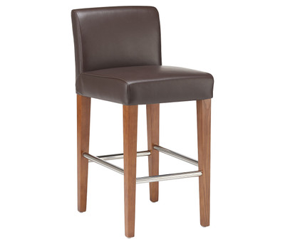 Elements Leather Counter Stool