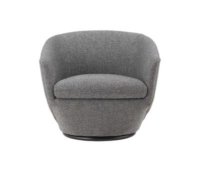 Gatano Swivel Fabric Chair