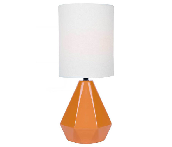 Chloe Orange Table Lamp
