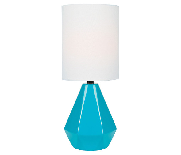 Chloe Turquoise Table Lamp