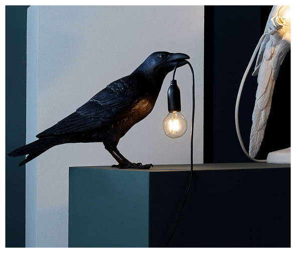 Waiting Bird Table Lamp